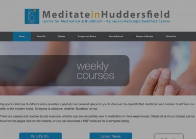 Meditate in Huddersfield